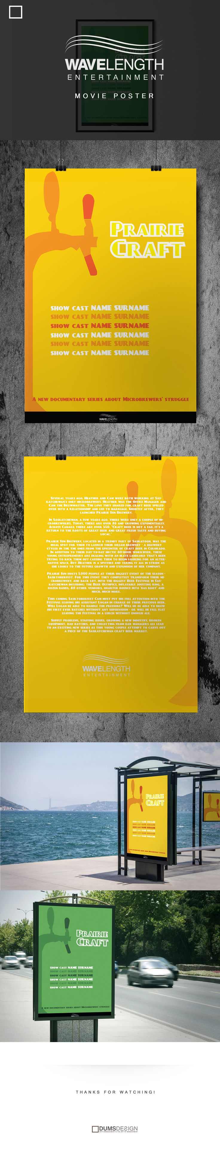 Wavelenght Entertainment - Poster Design on Behance