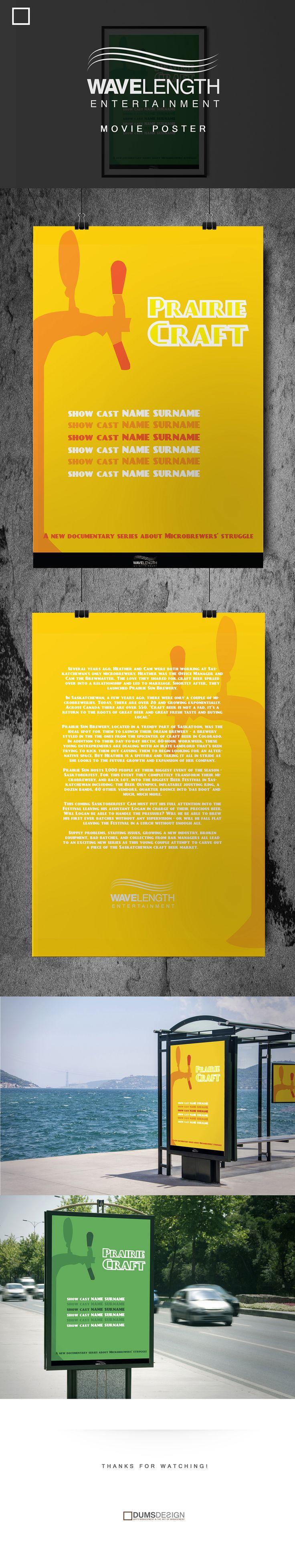 Wavelenght Entertainment - Poster Design on Behance