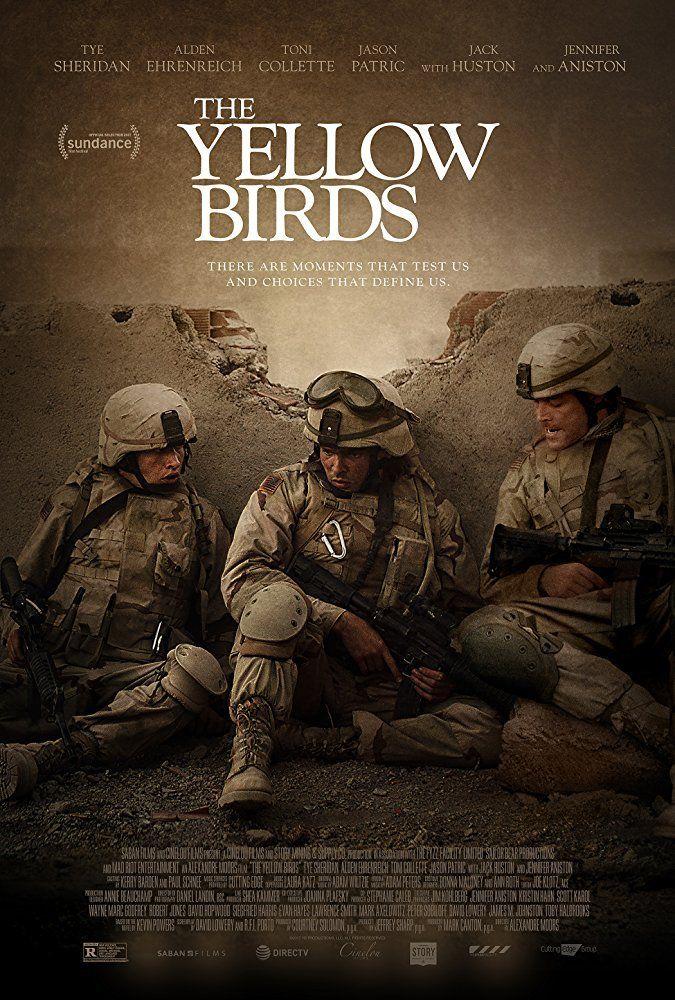 Resultado de imagem para the yellow birds cartaz movie