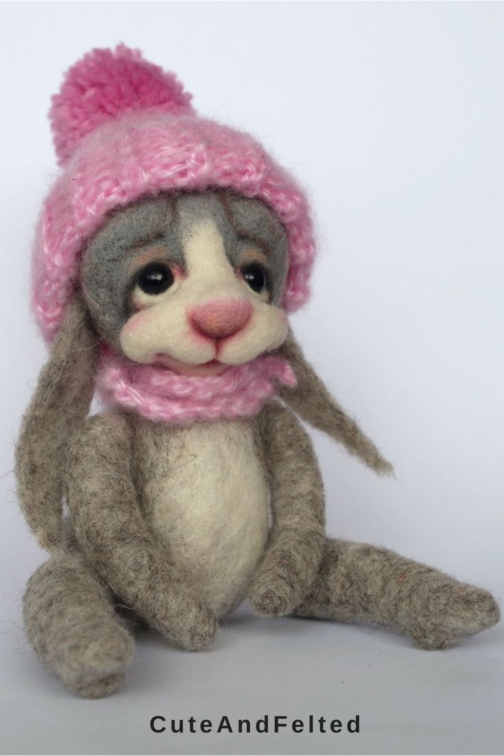 This rabbit will bring some cozy winter mood into your house :) $70.00