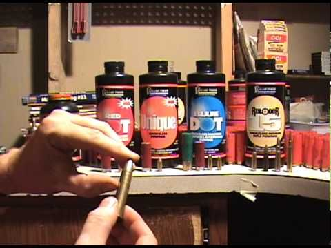 Reloading how to: Powder Selections from my bench