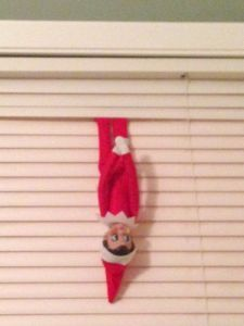 This elf on the shelf idea could come in handy if you need to come up with something quick. The kids would have fun looking for him right :)
