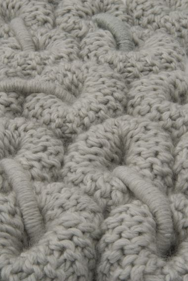 Knitted Surface Pattern & Texture - 3d textile design inspiration // Claire-Anne O'Brien