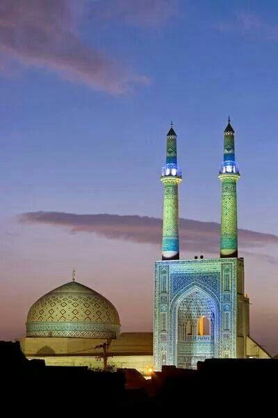 Jameh Mosque, Yazd, Iran.