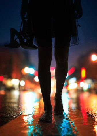 Here in these city lights, a girl could get lost.