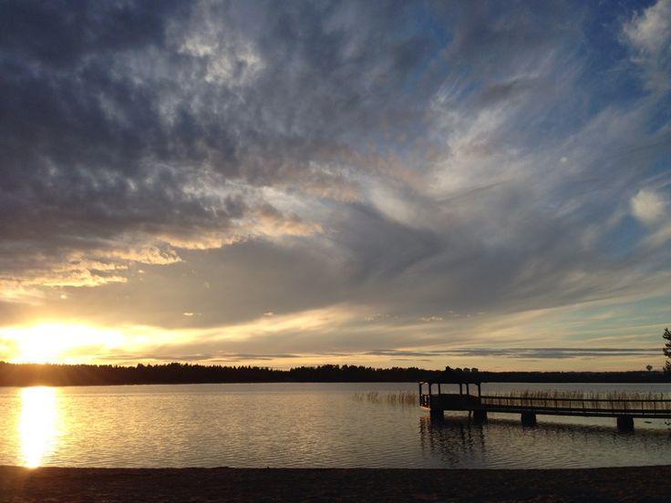 Nydalasjön in Umeå, Västerbottens län