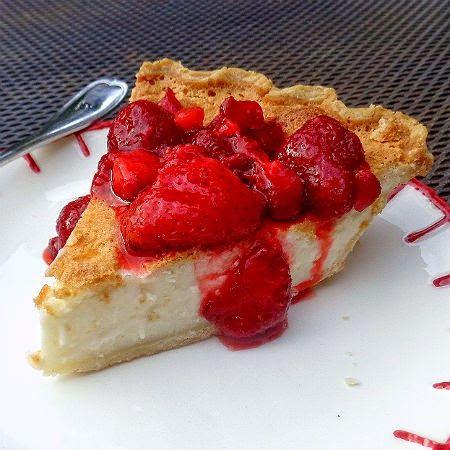 One Perfect Bite: Frugal Foodie Friday - Old German Cream Pie dessert recipe kuchen
