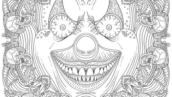 Pennywise Coloring Pages Ideas Scary But Fun Coloring Books Coloring Pages Halloween Coloring Book