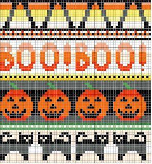 Kathleen Taylor's Dakota Dreams: For Your Halloween Knitting Pleasure