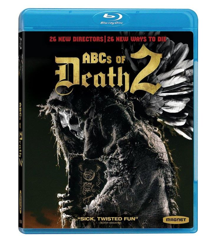 Blu-ray review for ABCs of Death 2.
