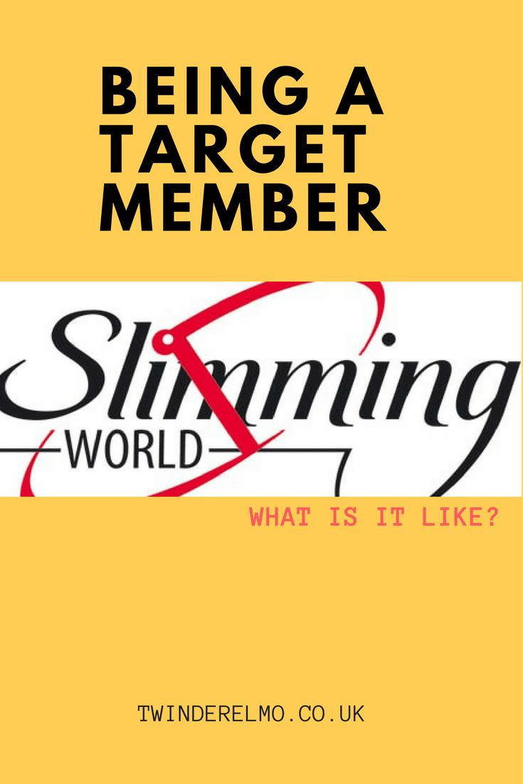 What is it like to be a Slimming World target member? What extra perks are there? Free membership is the best. We all want to hit our target goal weight with SW