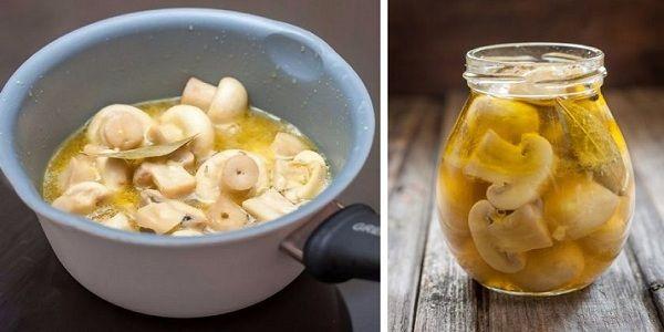Замаринуй грибы для праздничного стола за 10 минут. Идеальная закуска!