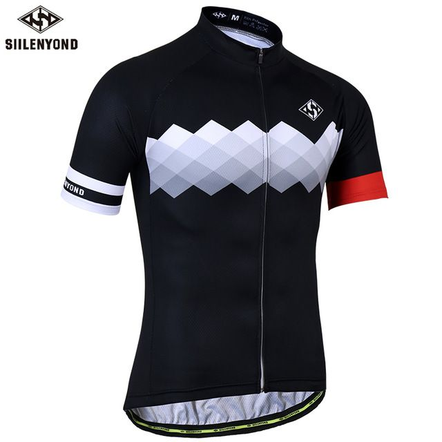 Siilenyond gannon de secado rápido ciclismo jersey de manga corta de verano mtb bicicleta clothing ropa maillot ciclismo bicicleta de carreras ropa