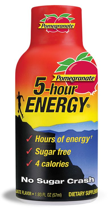 #8 My Favorite 5-hour ENERGY® Flavor is Pomegranate