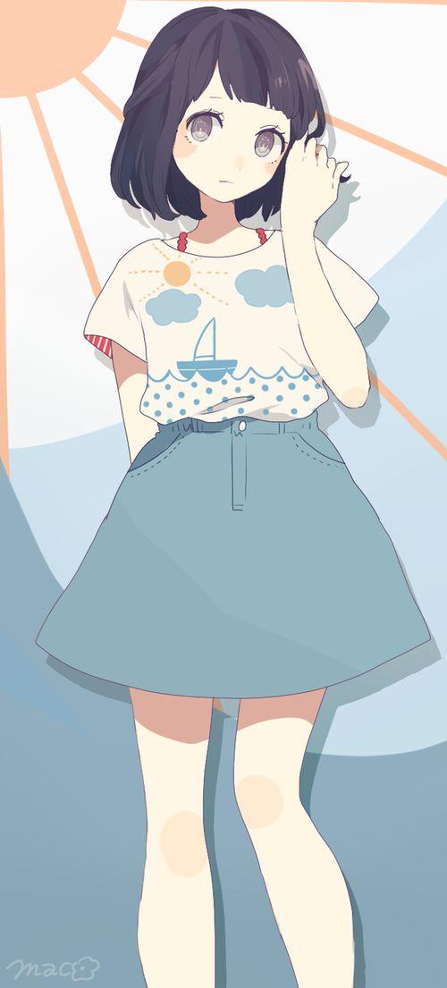 Color female dark 153 best anime draw
