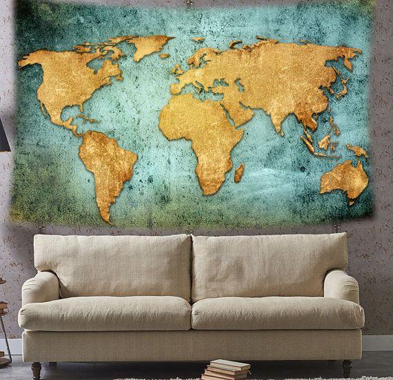 Rustieke Wall Decor wereld kaart wandtapijten, stof wand decor opknoping. Deze wandtapijten decor worden afgedrukt op lichtgewicht polyester weefsel met de hand genaaid randen. Alles klaar om te hangen aan de muur. De polyester stof gebruikt voor het afdrukken van deze tapijten is huid vriendelijk en niet de goedkope kwaliteit een. Duurzaam genoeg voor beide binnen een buiten doeleinden. Materiaal - 100% lichtgewicht polyester weefsel Color - als weergegeven in de afbeelding. Lichte…