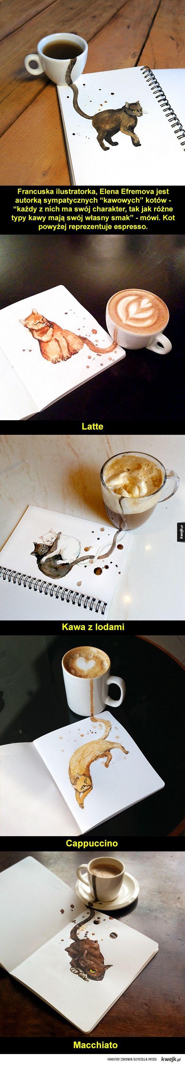 Kotki do kawy