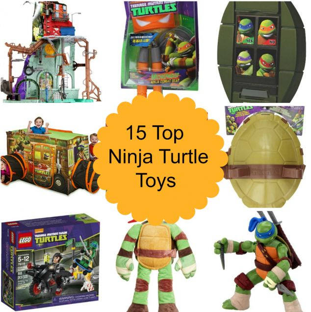 Kids like Ninja Turtles??? 15 Top Ninja Turtle Toys http://www.momgenerations.com/2014/12/15-top-ninja-turtle-toys/