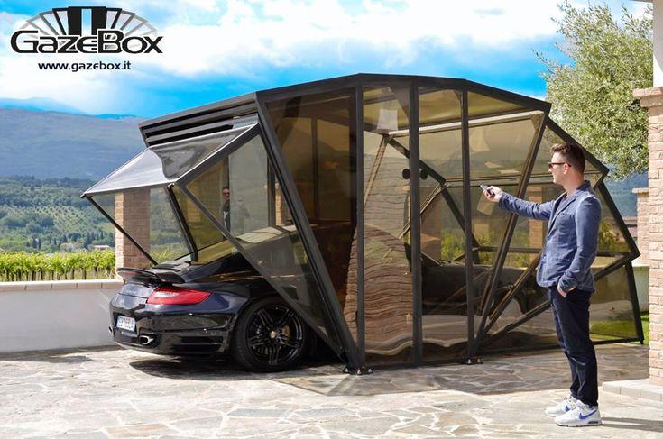 GazeBox: neue Konzept der Garage, Carport und Gartenlaube...ALL IN ONE!
