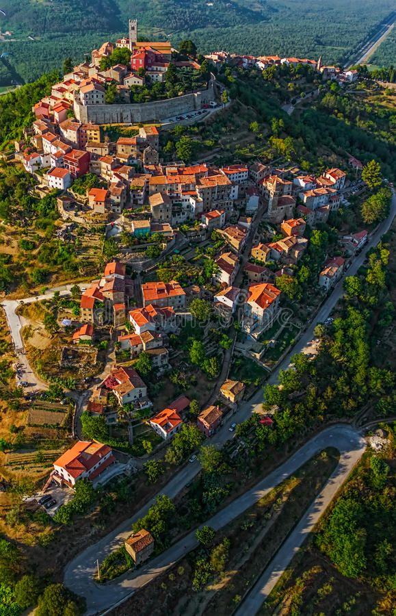 Motovun Croatia Motovun Is A Small Village In Central Istria Istra Croatia Ad Village Central Istria Moto Medieval Town Croatia Croatia Travel