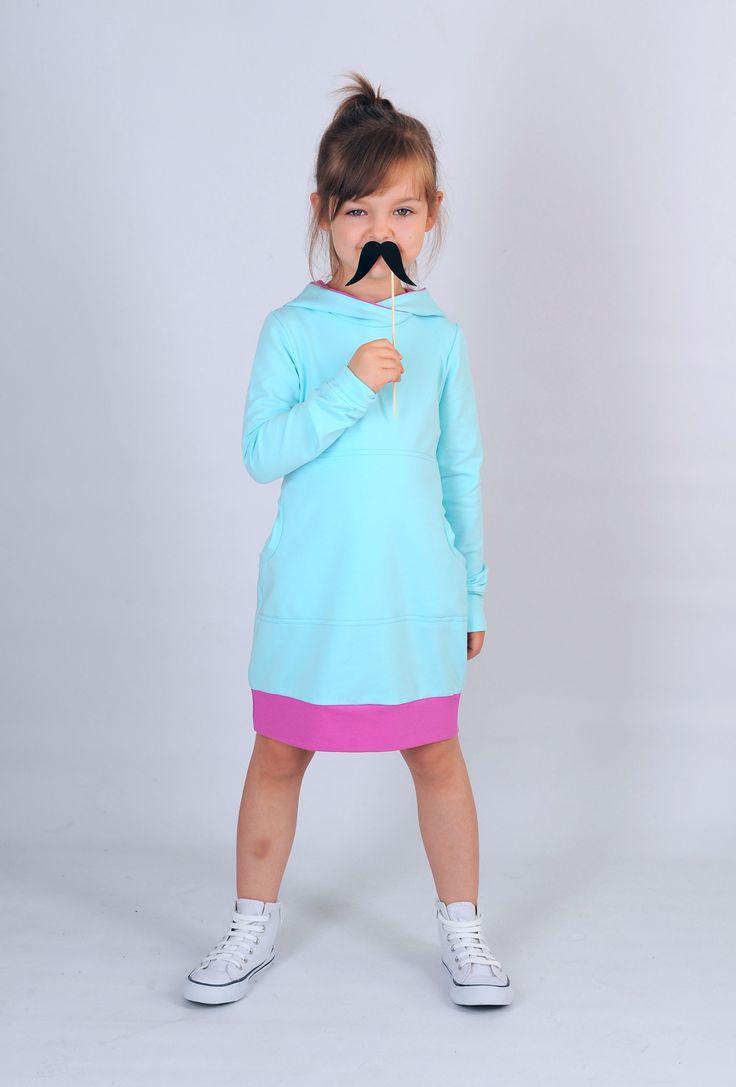 Aqua Dress www.gugamarie.pl