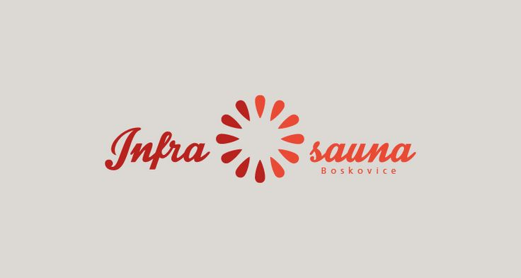 Infrasauna a masáže, Boskovice Logotyp a vizuální styl (2013) Infrared sauna and massage Logotype and visual style