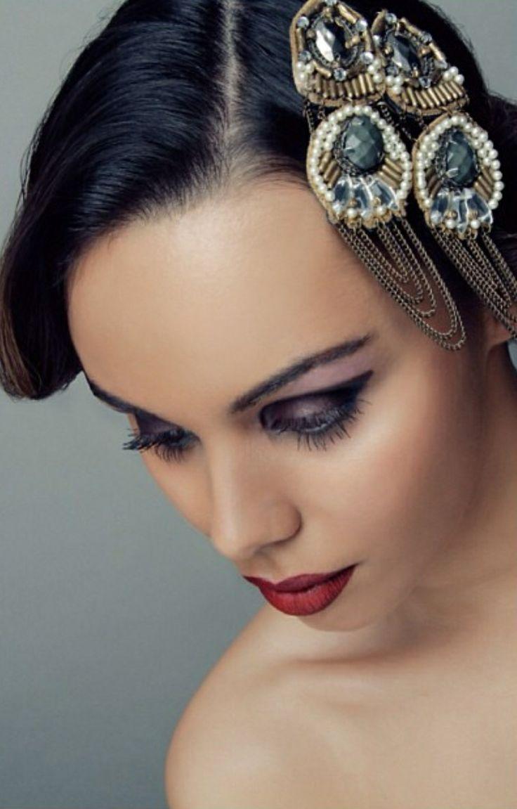 1920s inspired makeup makeup pinterest