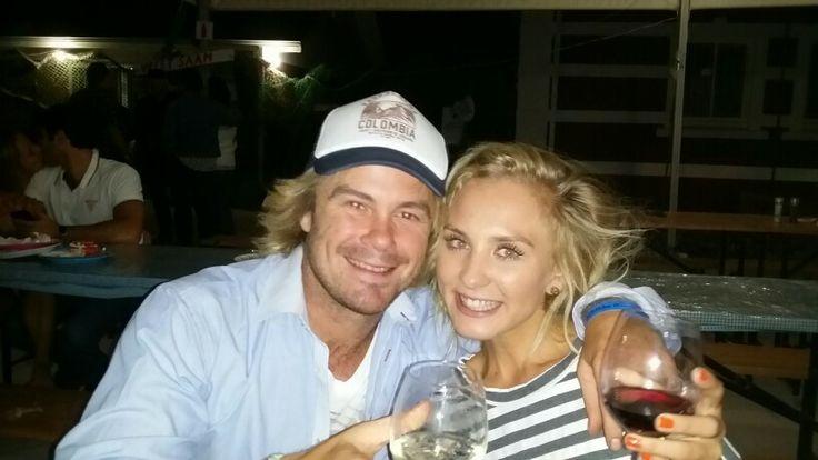 Bernardine en Willie Hopkins. tweeling by vette Mossel woordfees Stellenbosch