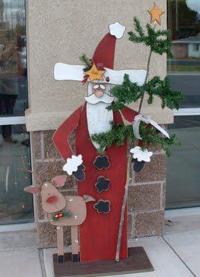 Make take tall santa fall winter craft ideas pinterest for Make it take it crafts