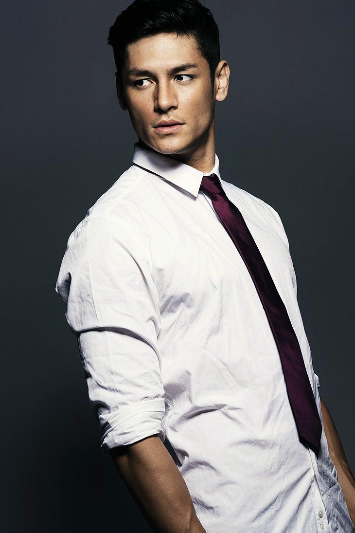 Brazilian Japanese model Hideo Muraoka