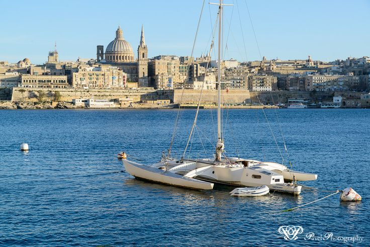 Valletta photographed from Sliema