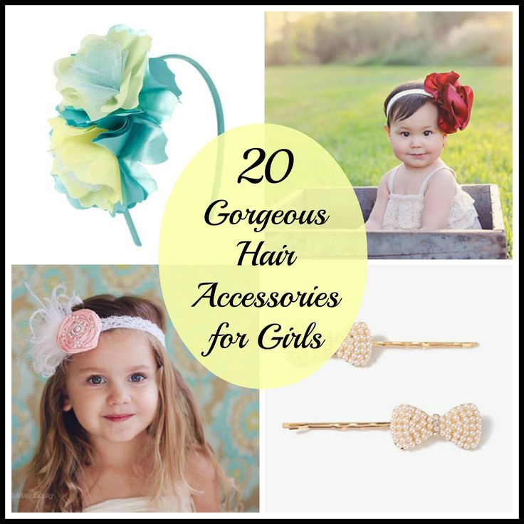 20 Gorgeous Hair Accessories for Girls - Perfect for EASTER!!!