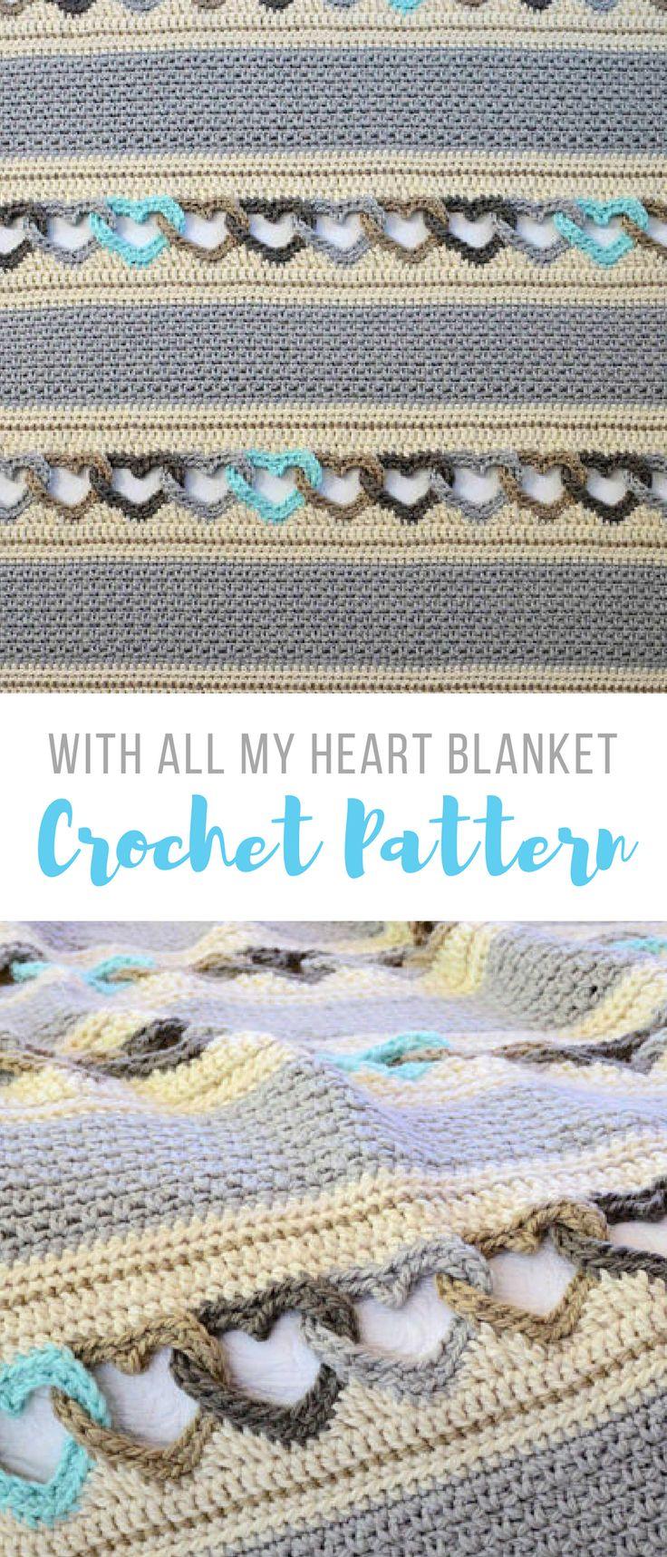 2255 Best Crochet Afghans Images On Pinterest Crochet
