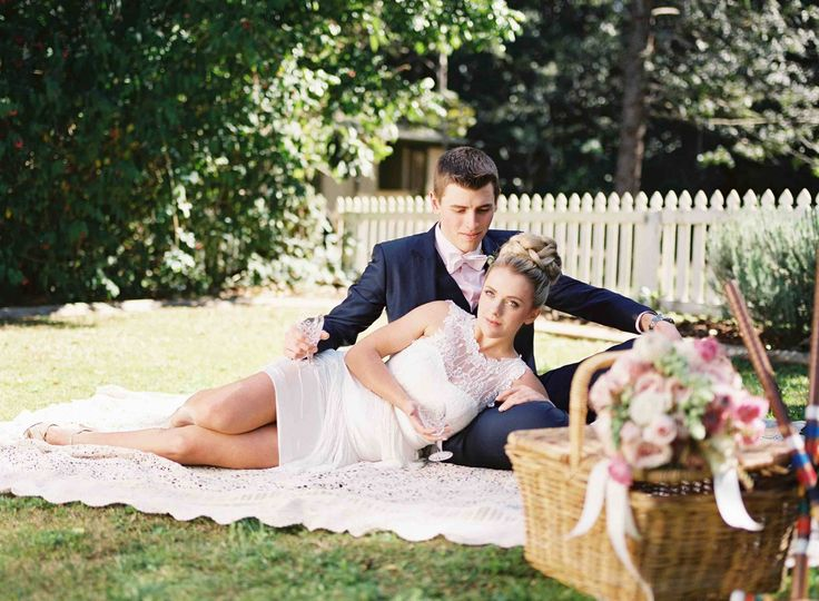 Lace picnic rug for relaxing elegance.