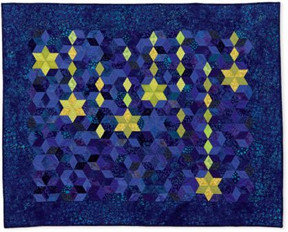 1000+ images about EPP DIAMOND STAR/SEVEN SISTER/60*EPP BLOKS/QUILTS on Pinterest Hexagons ...