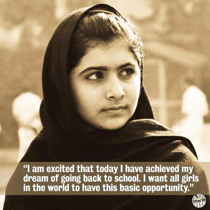 malala yousafzai leadership courage and determination A year ago, schoolgirl malala yousafzai was shot in the head by taliban gunmen her crime - to have defended the right of girls to be educated her full story can only now be told.