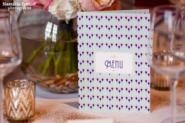 menu annees 30 gatsby le magnifique id e mariage mariage wedding id e d coration. Black Bedroom Furniture Sets. Home Design Ideas