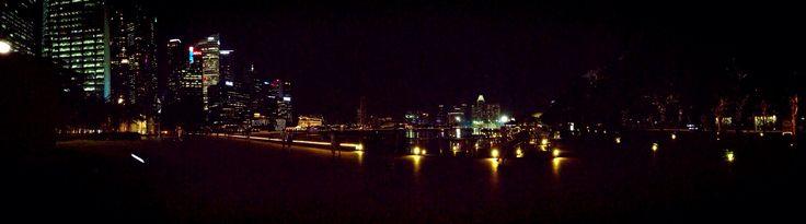 Night at Olympic Walk, Singapore