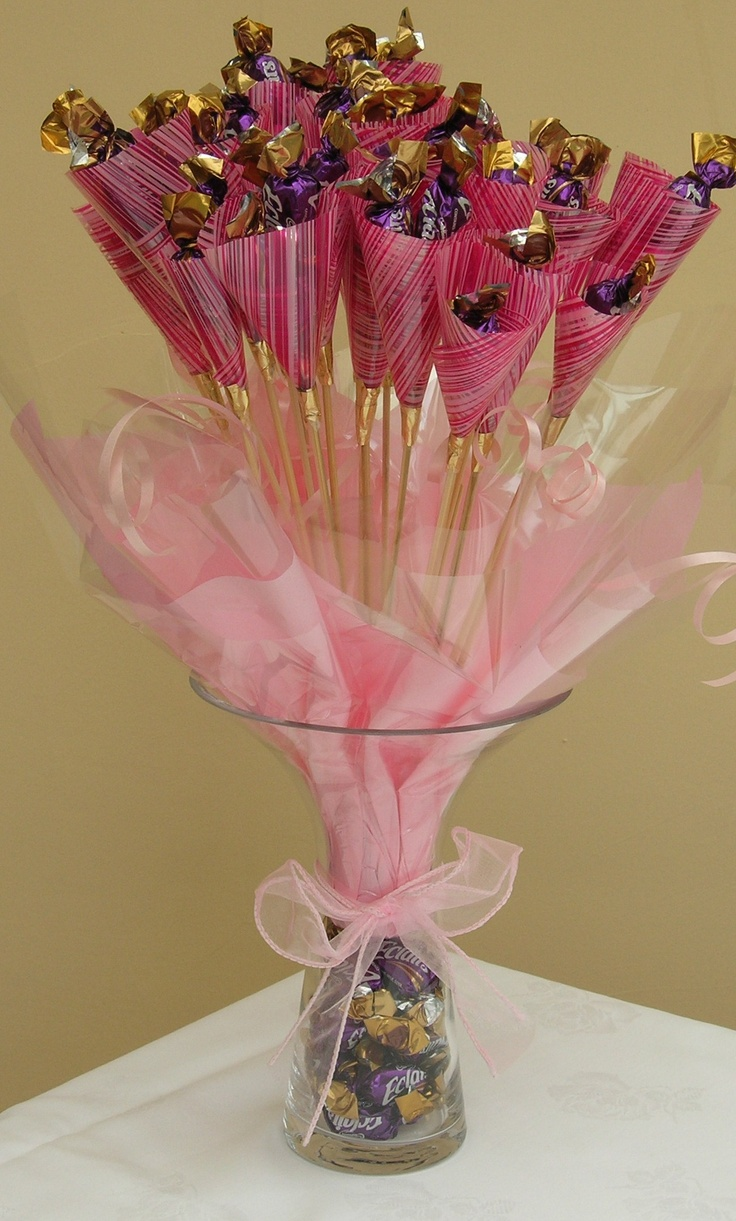 Chocolate Eclaire Bouquet
