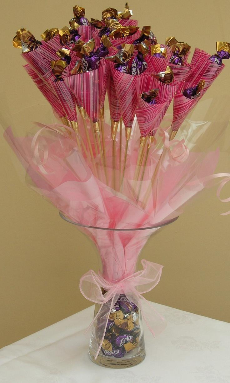 Best chocolate bouquet ideas on pinterest candy