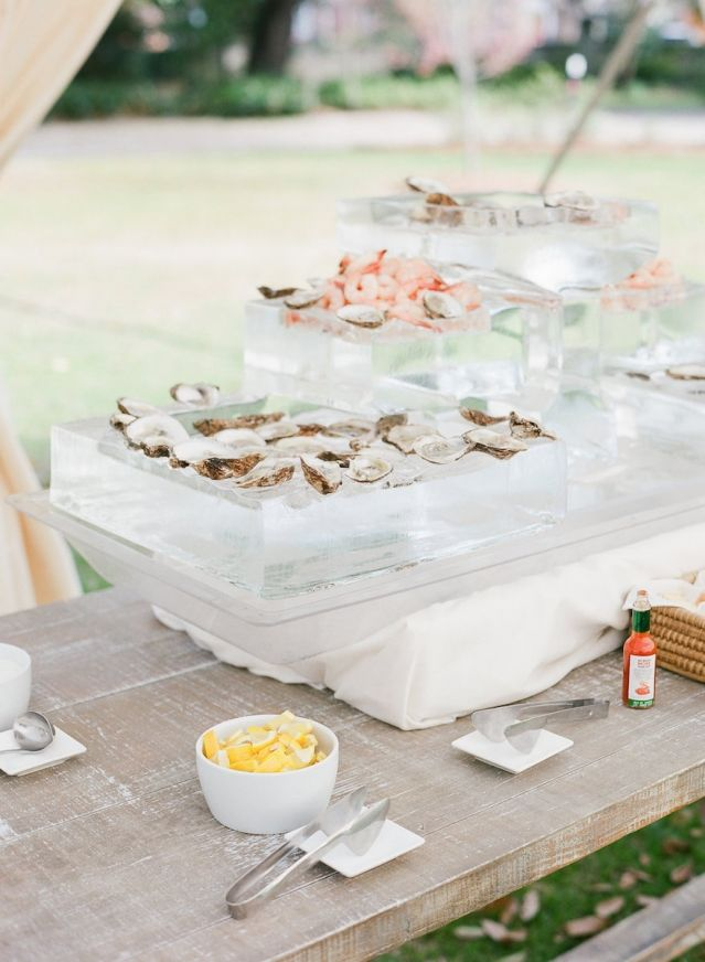 Cuisine by PPHG | Belle of the Ball | Charleston Weddings Magazine | Lowndes Grove Plantation | Charleston, SC | Photos by Corbin Gurkin
