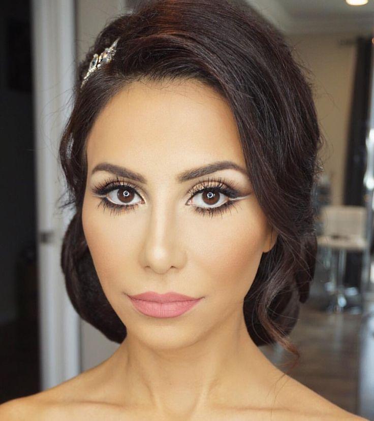 49 best Bridal makeup images on Pinterest   Diy wedding makeup ...