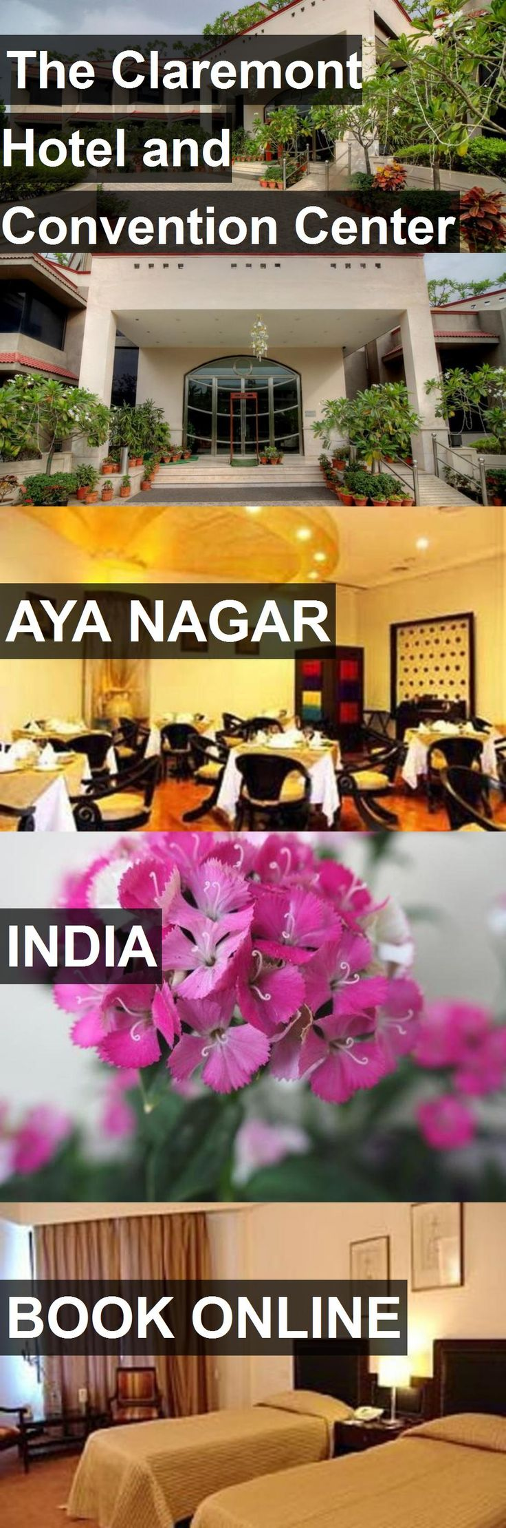 The Claremont Hotel and Convention Center in Aya Nagar, India. For more information, photos, reviews and best prices please follow the link. #India #AyaNagar #travel #vacation #hotel