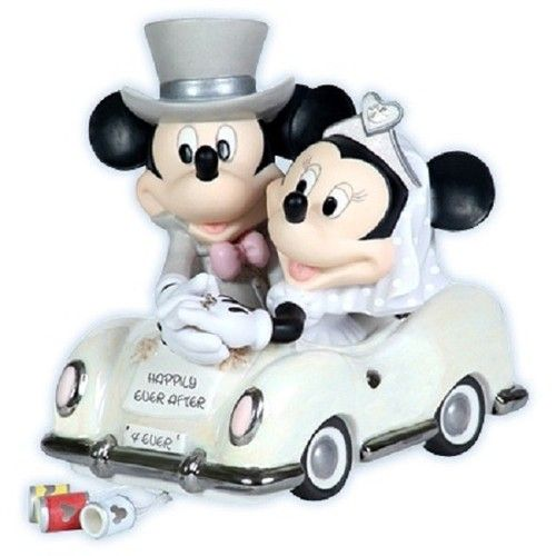 precious moments disney mickey mouse minnie figurine wedding cake topper 113703