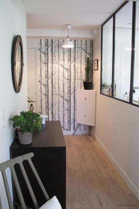 Tree wallpaper – INSIDE Création  #creation #inside #wallpaper