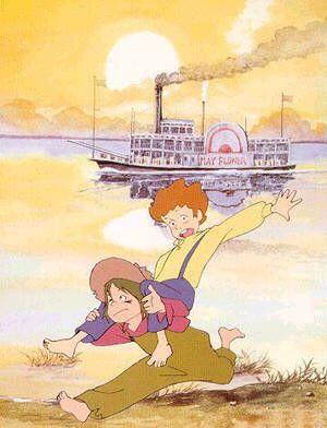Tom Sawyer Au bord du Mississippi