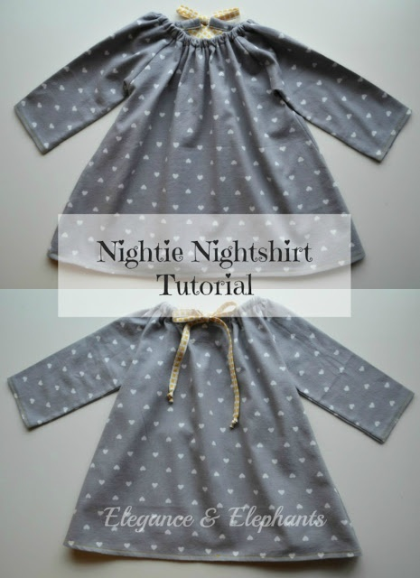 Nightshirt Tutorial from Elegance and Elephants