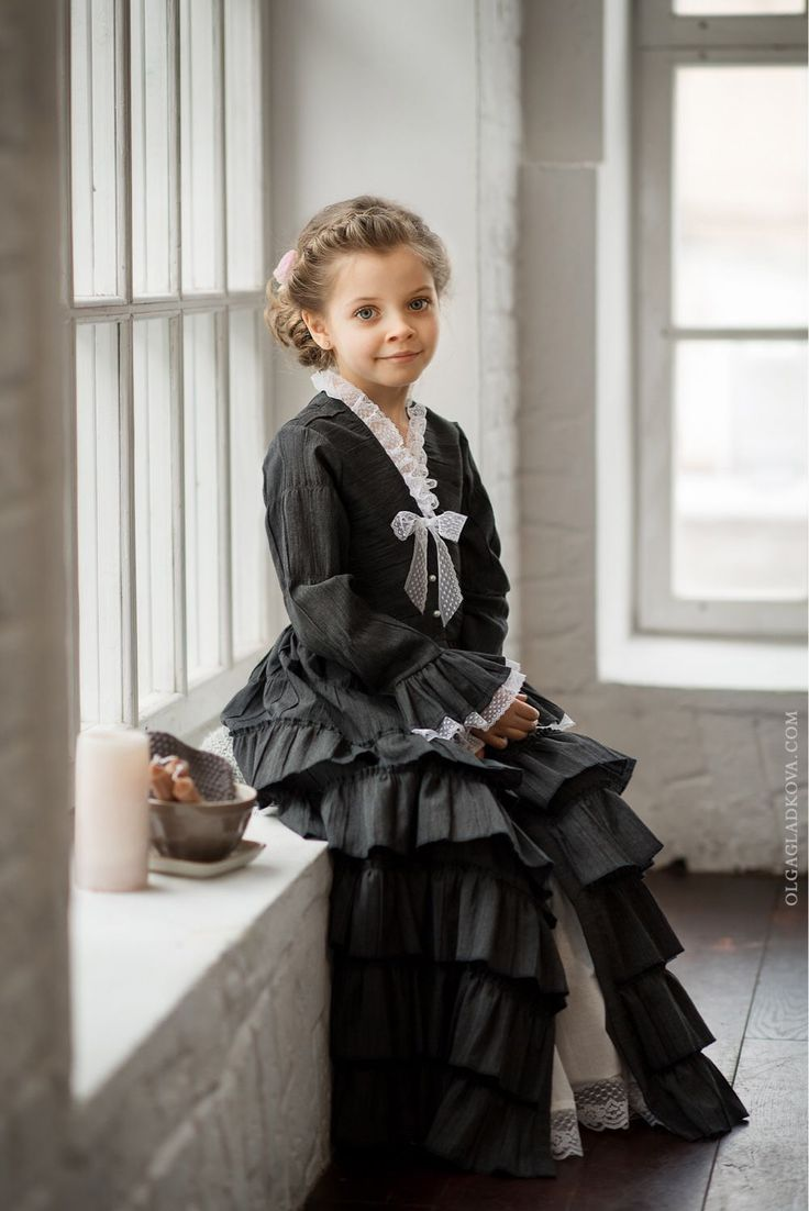 """Купить Платье """"Софья"""" - винтаж, винтажный стиль, винтажное платье, платье для девочки, Платье нарядное"""