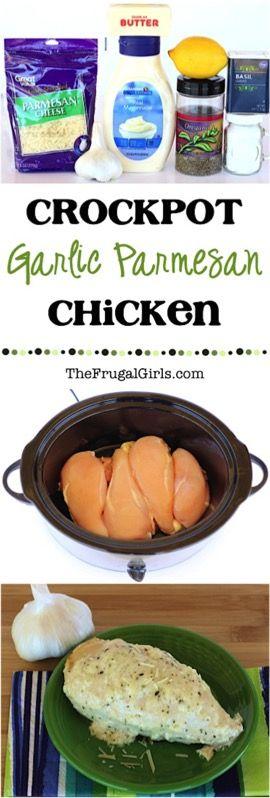 Crock Pot Garlic Parmesan Chicken Recipe
