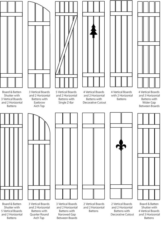 board and batten shutters - Google Search